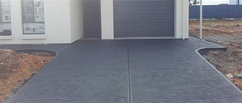 Colour concrete for Adelaide homes with Crew Concrete
