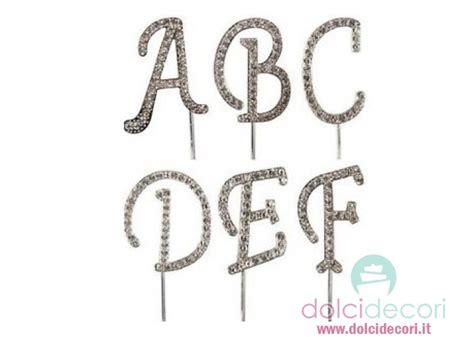 lettere per torte decorazioni torte lettere brillantini
