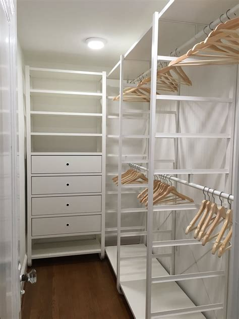 elvarli hacks the lovely ikea elvarli open wardrobe all of my clothing