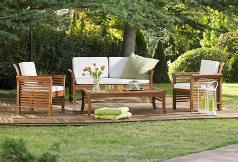 25 modern outdoor furniture sets that brighten up backyard