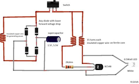 led flashlight wiring diagram hid ballast wiring diagram