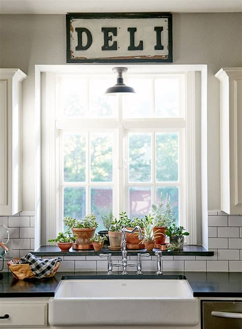 kitchen window sill decorating ideas new construction with curated charm in texas design sponge