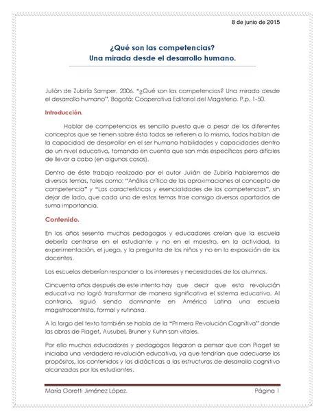 Diseño Curricular Por Competencias Julian De Zubiria 3 2 191 Qu 233 Las Competencias De Zubir 237 A By Goretti Jimenez Issuu