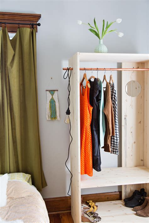 Diy Armoire Closet by Modern Wooden Wardrobe Diy A Beautiful Mess