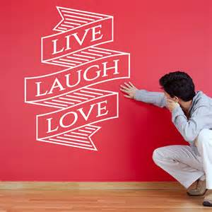 live laugh wall stickers live laugh wall decal inspirational motivational