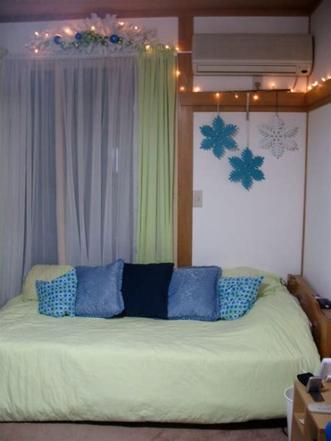 decoration ideas for bedrooms teenage lime green and blue christmas decorating ideas for teen