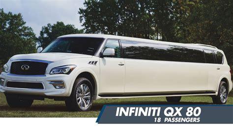 infiniti qx 80 limo suv limo service and infiniti