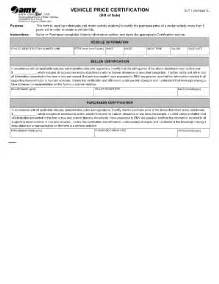 Bill Of Sale Template Virginia by Virginia Motor Vehicle Bill Of Sale Form Templates