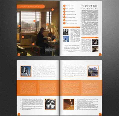 creative brochure templates free corporate brochure template free csoforum info