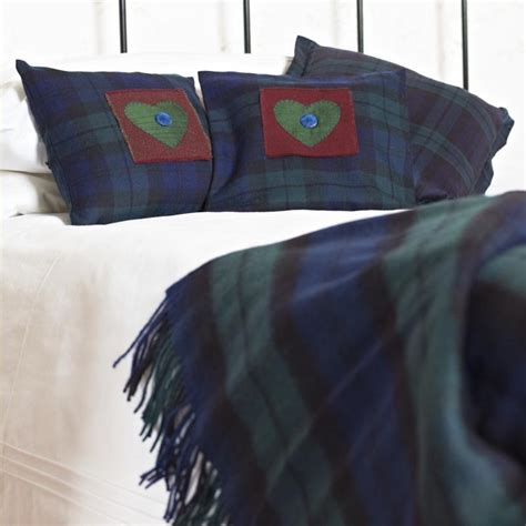 tartan rugs and cushions click here to view larger image