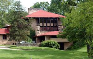 Wisconsin House Frank Lloyd Wright S Taliesin House Green