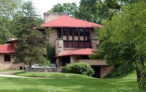 Wisconsin House by Frank Lloyd Wright S Taliesin House Spring Green