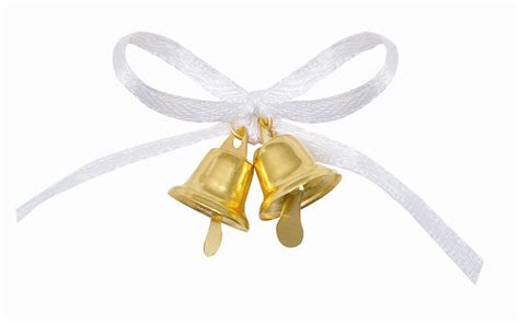Wedding Bell Favours by Gold Wedding Bell Favours 12pk
