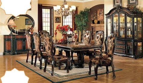 9pc dining room set evelyn 9pc formal dining room set