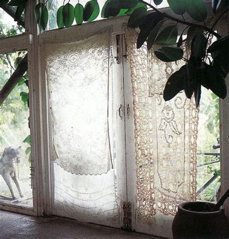 hanging lace curtains unconventional ways to hang curtains