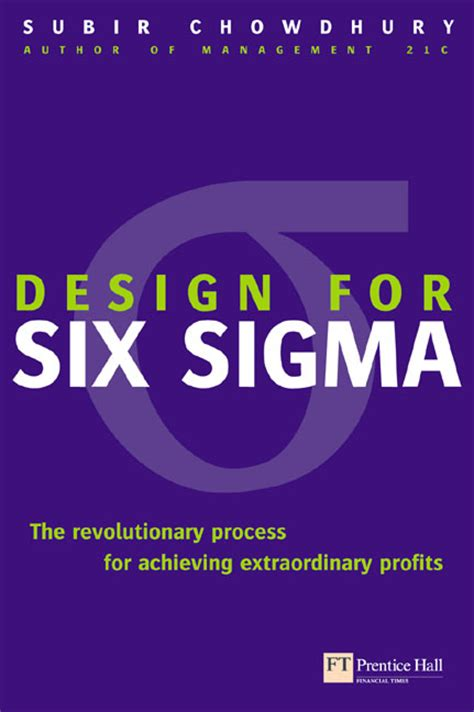 What Is Design For Six Sigma Ebook E Book pearson education design for six sigma