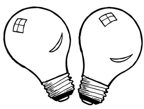 light bulb coloring page light bulb coloring pages clipart best