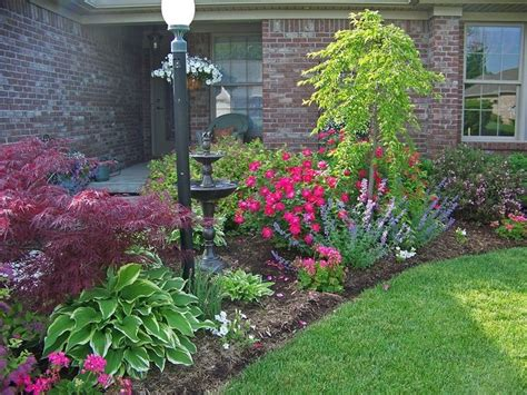 Front Of House Flower Garden Landscaping Ideas Pinterest Pictures Of Flower Gardens In Front Of House