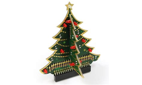 turn your raspberry pi into a 3d christmas tree with this