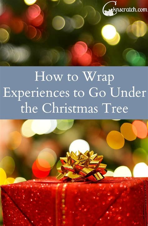 how to wrap experience gifts and wraps on pinterest