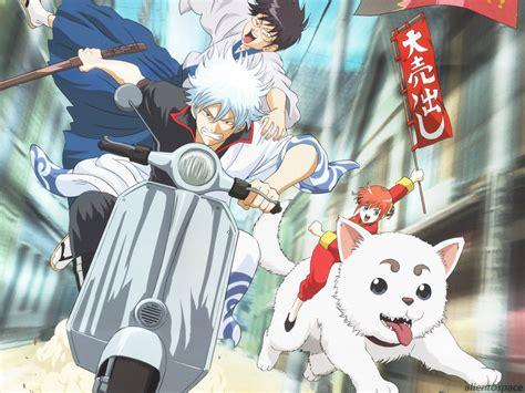 anime gintama gintama anime returns in new movie jefusion