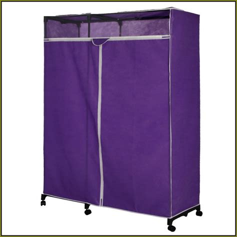 Portable Wardrobe Closet On Wheels - lowes portable closet home decor