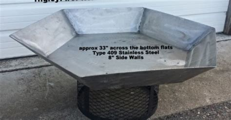 pin by higley metals fire pit liners spark screens metal