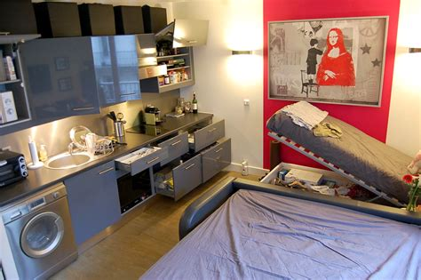 Cheap Small Kitchen Appliances - joel and jessica s 265 sqft studio in paris intentionally small