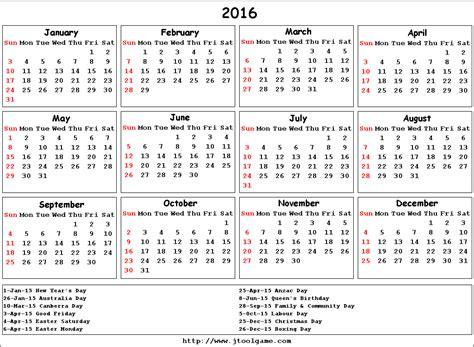 free printable planner 2016 australia 2016 calendar printable calendar 2016 calendar in