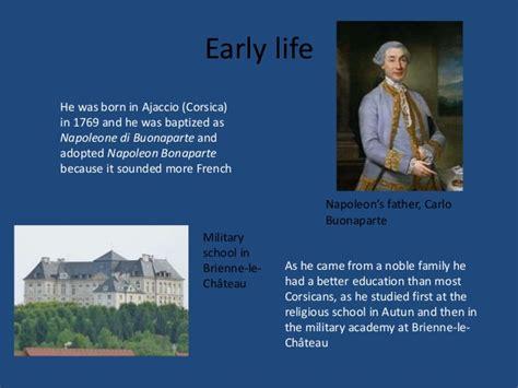 napoleon bonaparte biography early life the napoleon empire