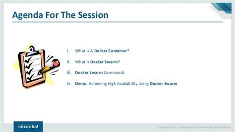 tutorial docker swarm docker swarm for high availability docker tutorial