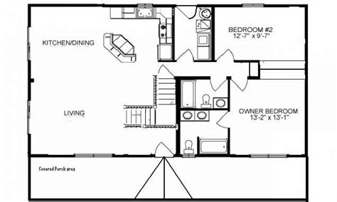 rustic cabin floor plans unique house plans 2 bedroom