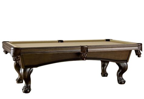 american heritage billiards crescent pool table with ball