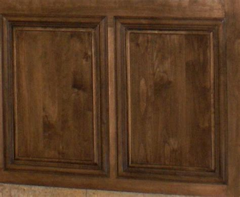 walnut stain on birch cabinets new house