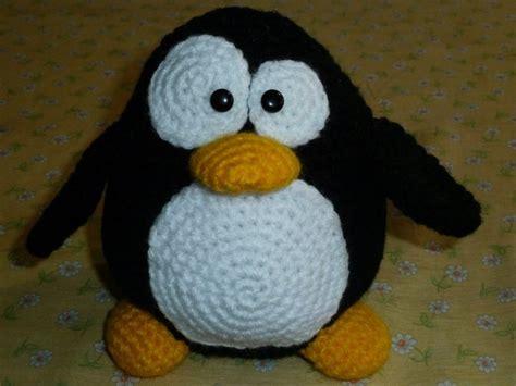 amigurumi penguin amigurumi tux linux penguin crochet