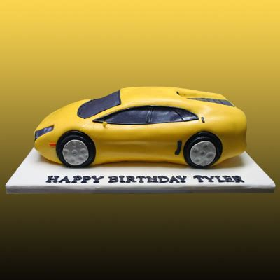Lamborghini Cake Lamborghini Cake 001 Lamborghini Sculpted Cake By Kathy