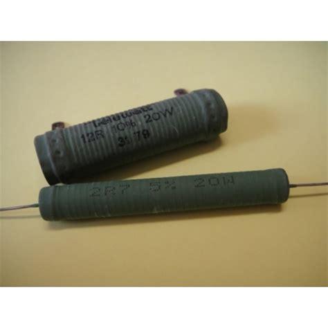 resistor de fio 100r 20w resistor de fio 10 watts