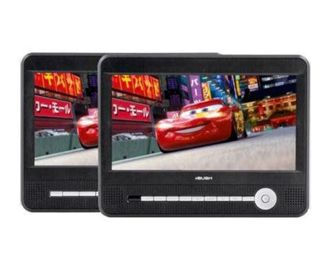 In Car Dvd Player With Usb Port by Bush Cce90w13duo 9 Dual Screen In Car Region 2 Dvd