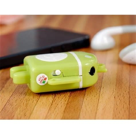 Android Robot Mp3 Player Tf Card With Small Clip android robot mp3 player tf card with small clip black jakartanotebook