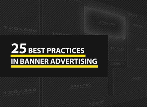 website header design best practices 25 best practices in banner advertising