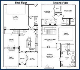 2 floor house plans the parkway luxury condominiums