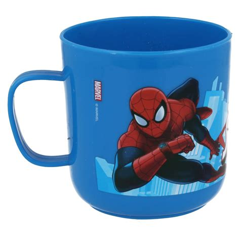 childrens plastic character mugs cups