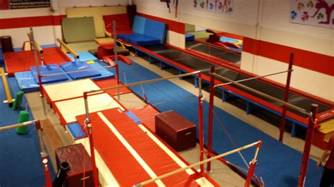 gymnastics gym layout gym