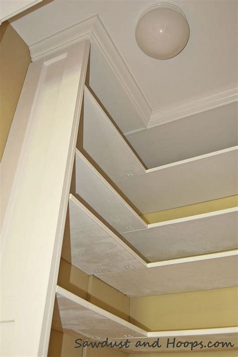 How To Make A Shelf With Crown Molding by Closet With Adjustable Shelves And Crown Molding