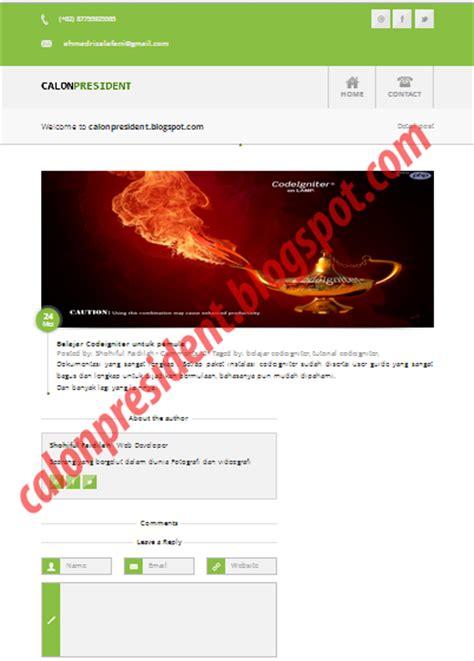 sle codeigniter application download tutorial codeigniter aplikasi website blog weblog