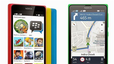 Tv Dengan Os Android nokia x smartphone nokia dengan os android