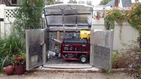 outdoor soundproof enclosure  portable generator