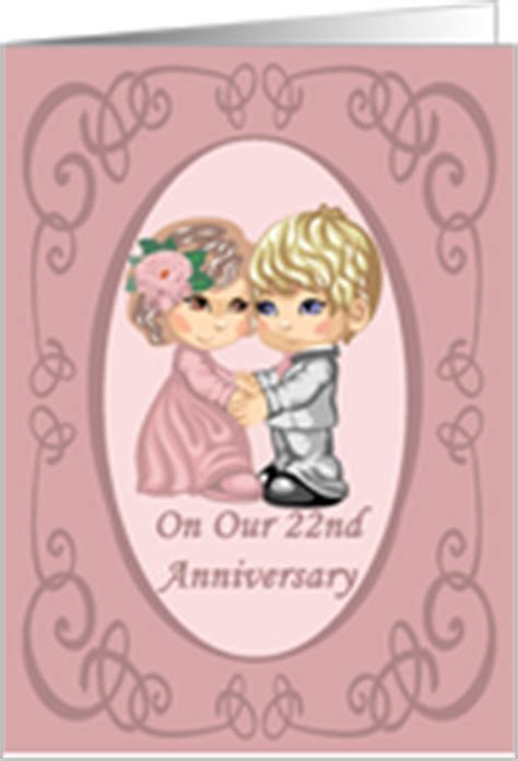 22nd Wedding Anniversary Cards from Greeting Card Universe