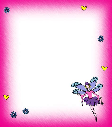 printable fairy stationary blank fairy notepaper pink rooftop post printables