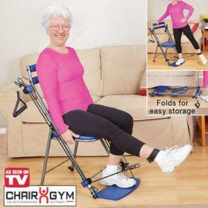 chair total workout chair for seniors
